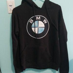 Tops - Black BMW hoodie